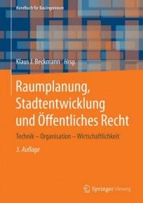 Raumplanung, Stadtentwicklung und Öffentliches Recht