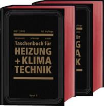 Recknagel Taschenbuch für Heizung + Klimatechnik 2020/2021. Buchausgabe