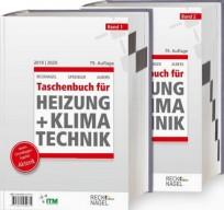 Recknagel Taschenbuch für Heizung + Klimatechnik 2019/2020. Buchausgabe