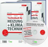 Recknagel Taschenbuch für Heizung + Klimatechnik 2018/2019. Buch + eBook