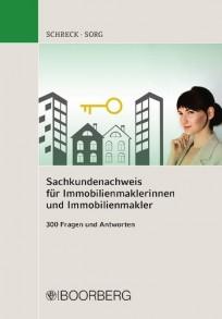 Sachkundenachweis für Immobilienmaklerinnen und Immobilienmakler