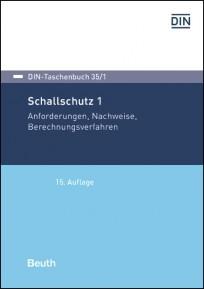 DIN-Taschenbuch 35/1. Schallschutz 1