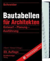 Schneider Bautabellen für Architekten