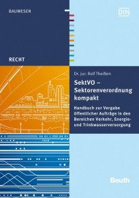 SektVO  Sektorenverordnung kompakt