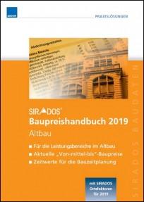 sirAdos Baupreishandbuch 2019. Altbau
