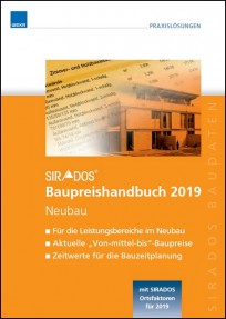 sirAdos Baupreishandbuch 2019. Neubau