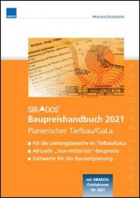 sirAdos Baupreishandbuch 2021. Planerischer Tiefbau / GaLa