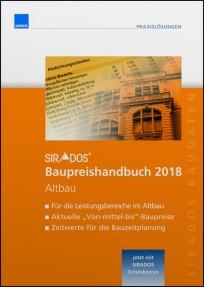 sirAdos Baupreishandbuch 2018. Altbau