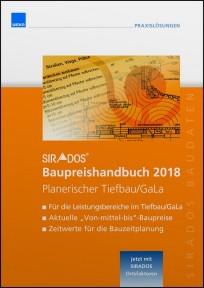 sirAdos Baupreishandbuch 2018. Planerischer Tiefbau / GaLaBau