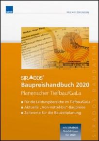 sirAdos Baupreishandbuch 2020. Planerischer Tiefbau / GaLa