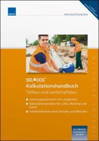 sirAdos Kalkulationshandbuch 2020 - Tiefbau und Landschaftsbau