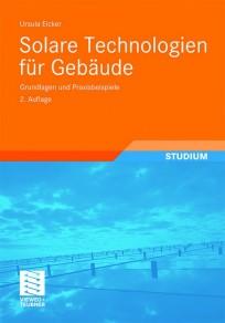 Solare Technologien für Gebäude