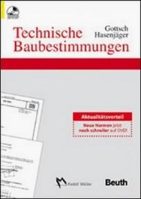 Technische Baubestimmungen auf DVD