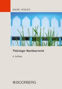 Thüringer Nachbarrecht. Kommentar