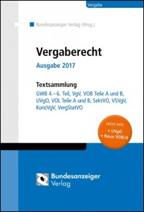 Vergaberecht Ausgabe 2017 - Textsammlung