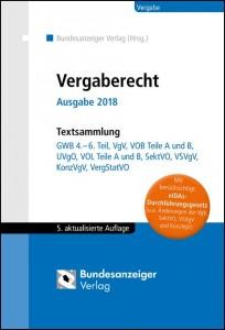 Vergaberecht Ausgabe 2018 - Textsammlung