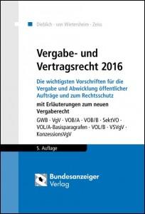 Vergabe- und Vertragsrecht 2016