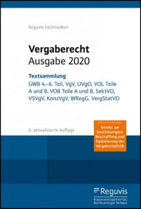 Vergaberecht Ausgabe 2020 - Textsammlung