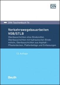 DIN-Taschenbuch 76. Verkehrswegebauarbeiten