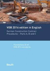VOB 2016 in Englisch