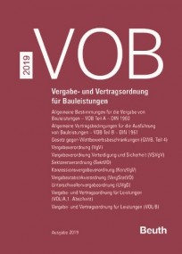 VOB 2019 Zusatzband