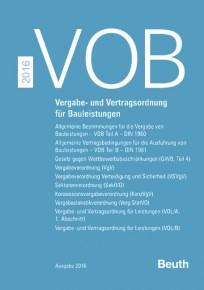 VOB 2016 Zusatzband