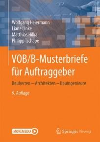 VOB/B-Musterbriefe für Auftraggeber