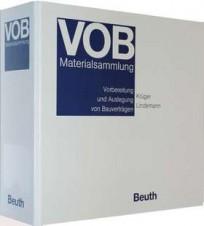 VOB-Materialsammlung - Loseblatt-Sammlung