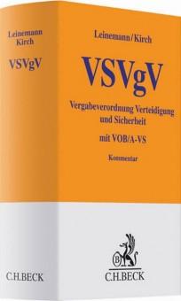 Vergabeverordnung Verteidigung und Sicherheit: VSVgV-Kommentar