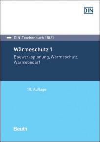 DIN-Taschenbuch 158/1. Wärmeschutz 1