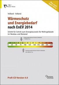 Wärmeschutz und Energiebedarf nach EnEV 2014 - Profi-CD-ROM