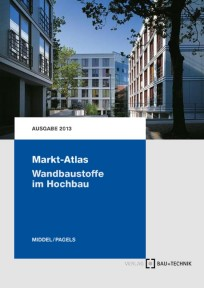 Markt-Atlas Wandbaustoffe im Hochbau