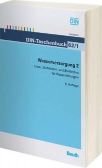 DIN-Taschenbuch 62/1. Wasserversorgung 2