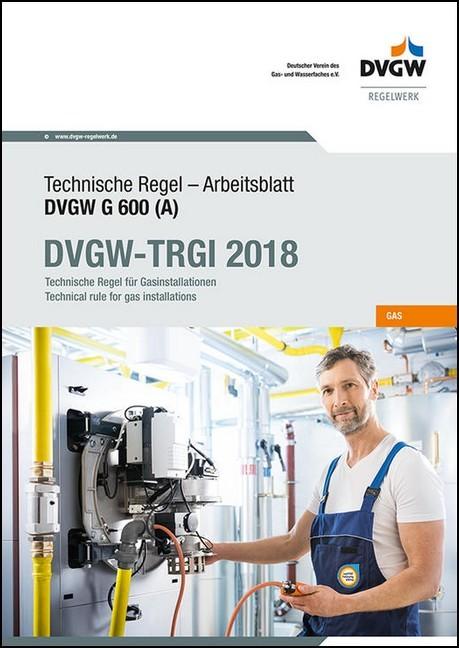 TRGI Ausgabe 2018. DVGW-Arbeitsblatt G 600 - DVGW | Bücher & DIN ...