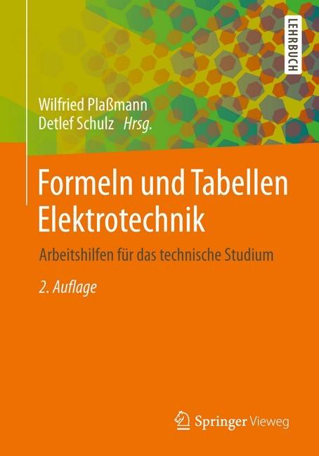 Formeln und tabellen elektrotechnik pla mann b cher for Baustatik formelsammlung
