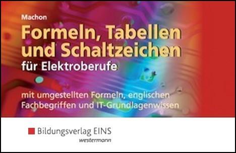 Formeln tabellen und schaltzeichen f r elektroberufe for Baustatik formelsammlung