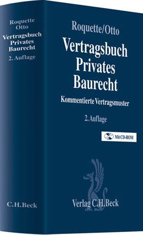 Vertragsbuch Privates Baurecht Roquette Otto Bücher Din