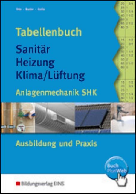 Ordentlich Tabellenbuch Sanitär - Heizung - Klima/Lüftung - Ihle / Bader  WN38