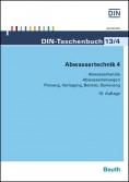 DIN-Taschenbuch 13/4. Abwassertechnik 4