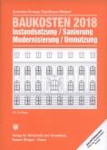 Baukosten 2018. Band 1: Altbau