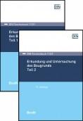 DIN-Taschenbuch 113/1 und 113/2. Erkundung und Untersuchung des Baugrunds