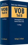 Beck'scher VOB- und Vergaberechts-Kommentar. VOB Teil B