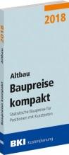 BKI Baupreise kompakt 2018 - Altbau