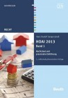 HOAI 2013, Band 1