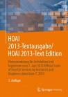 HOAI 2013 Textausgabe / HOAI 2013 Text Edition